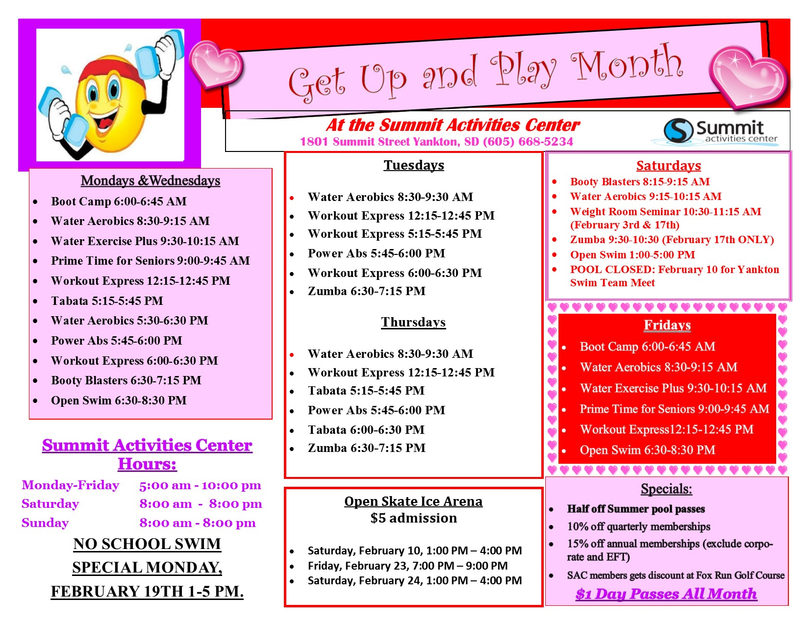 Get Up and Play Month 2018