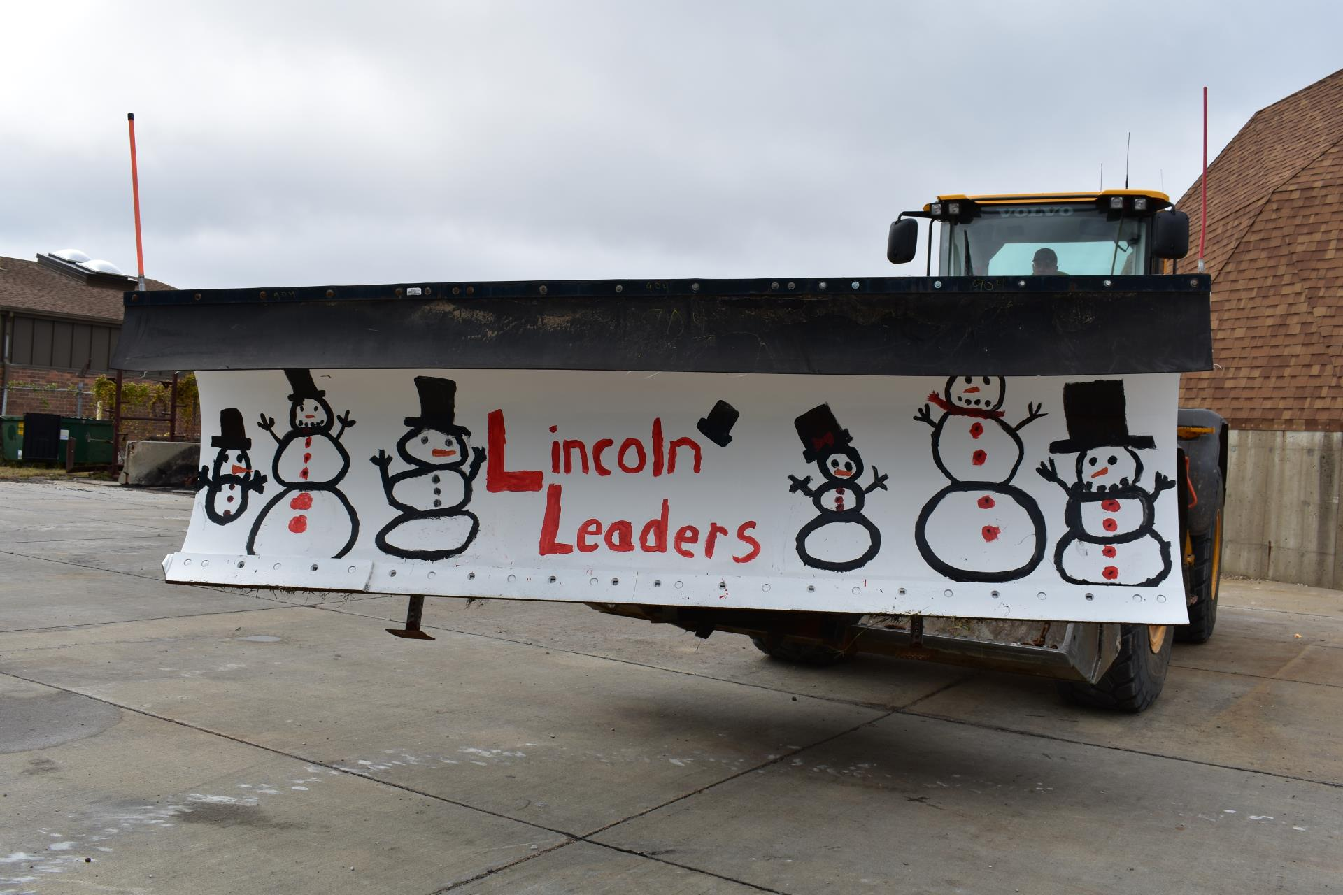 2018 Lincoln School Paint the Plow