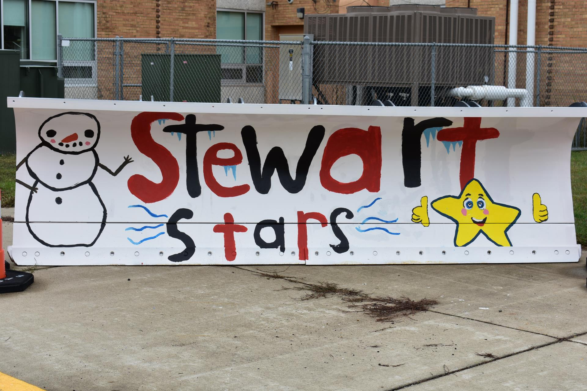 2018 Stewart School Paint the Plow