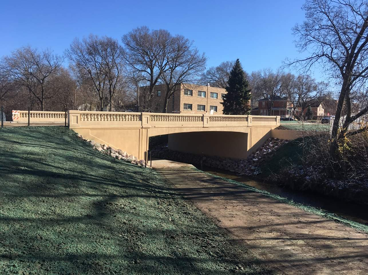 Pine Street Bridge Project Completed
